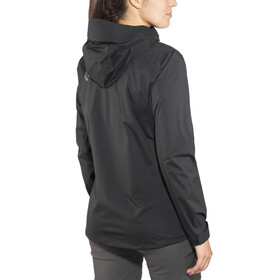Black Diamond Stormline Stretch Rain Shell Jacket Women Black